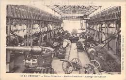INDUSTRIE - Usines SCHNEIDER - Le CREUSOT (71) Montage Des Canons - CPA Saône Loire (usine Factory ) - Industrie