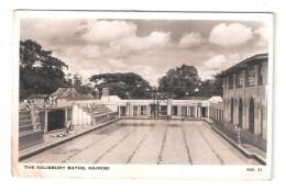 Uganda Kenya Tanganyika USED STAMPS Kenya SALISBURY BATHS Nairobi 1950s Postcard LIDO SWIMMING POOL - Kenya