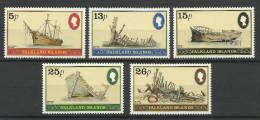FALKLAND ISLANDS 1982  SHIPWRECKS SET MNH - Boten