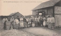 SAINT AUBIN DU CORMIER CAMP DE LA LANDE D OUEE LA CUISINE - France