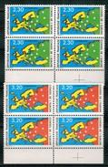 Ph-France-Bloc De 4 Conseil De L'Europe 1990 Neuf** - Neufs
