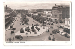 Uganda Kenya Tanganyika USED STAMPS Kenya DELAMERE AVENUE NAIROBI 1950s Postcard - Kenya