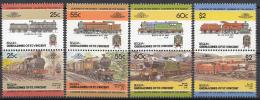 St. Vincent - Bequia - Lokomotieven/Lokomotiven/Locomotivs (III) - MNH - M 82-89 - St.Vincent (1979-...)