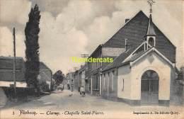 CPA FLOBECQ CLERMY CHAPELLE SAINT PIERRE - Flobecq - Vloesberg