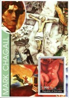 Somalia - 2002 Modern Art Marc Chagall MS (**)