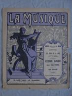 Ancienne Partition LA MUSIQUE N° 14 Dimanche 9 Juin 1912 - Par EDITEURS