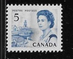 CANADA, 1968, # 458pi,  CENTENNIAL  FISHING VILLAGE, WCB,DF, DEX MNH VF - Neufs