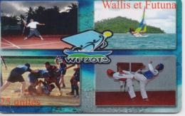 WALLIS & FUTUNA PHONECARD DISCIPLINE(without Batch Number)-6000pcs -USED(bx1) - Wallis And Futuna