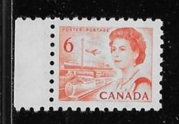 CANADA, 1968, # 459p,  CENTENNIAL  Transportation, W2B, DF MNH - Neufs