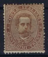 Italy: Sa Nr 41  Mi Nr 41 MH/* Falz/ Charniere  1879