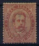 Italy: Sa Nr 38  Mi Nr 38 Not Used (*) SG  1879