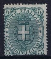 Italy: Sa Nr 59  Mi Nr  60 Not Used (*) SG    1891