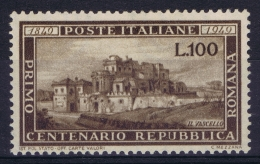 Italy: Sa Nr 600 , Mi Nr   773 MNH/**/postfrisch/neuf Sans Charniere  1949 - 1946-.. République