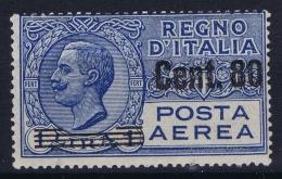 Italy: Airmail Sa Nr 9 Mi Nr 271 MNH/**/postfrisch/neuf Sans Charniere 1927 - 1900-44 Victor Emmanuel III