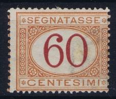 Italy: Segnatasse 1890 Sa 26  MI Nr 10b   MNH/**/postfrisch/neuf Sans Charniere - 1900-44 Vittorio Emanuele III