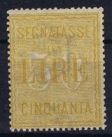 Italy: Segnatasse 1903 Sa 31  MI Nr 26   MNH/**/postfrisch/neuf Sans Charniere - 1900-44 Vittorio Emanuele III