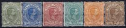 Italy: Pacchi Postali 1884 Sa 1 - 6   MI Nr 1 - 6  MH/* Falz/ Charniere - Paketmarken