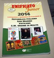 ITALIA 2014, CATALOGO UNIFICATO JUNIOR 2014, POCO USATO - Italia