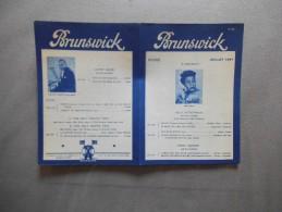 BRUNSWICK JUILLET 1941 ELLA FITZGERALD COUNT BASIE - Autres