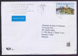 Lighthouses, ATM Frama Label On Postal History Cover From CZECH Republic, Used 2016