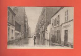 * CPA..dépt 75..PARIS 15  :  Rue Sébastien  Mercier En 1910   :  Voir Les 2 Scans - Paris (15)