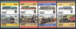 Tuvalu - Funafuti - Lokomotieven/Lokomotiven/Locomotives (IV) - MNH - M 85-92