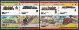Tuvalu - Nukulaelae - Lokomotieven/Lokomotiven/Locomotives (II) - MNH - M 17-24