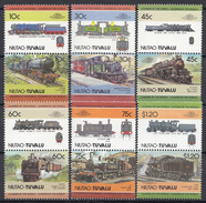 Tuvalu - Niutao - Lokomotieven/Lokomotiven/Locomotives (II) - MNH - M 45-56 - Tuvalu