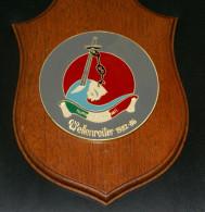 ITALIA - CREST ARALDICO , CORSO WELLENREITER 1982-1986  MARINA MILITARE - Marine