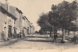 PUIMOISSON - La Rue Principale - Frankrijk