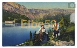 Croatie, Dubrovnik, Rijeka, (Ragusa, Fiume), Chromo, Costumes Nationales, Neuve - Costumi