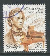 Servie, Yv 338 Jaar 2010, Gestempeld, Zie Scan - Serbia