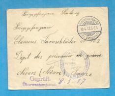 WW1 - Prisonnier De Guerre Allemand - Dépot De NEVERS (Nièvre). 1917 - 1877-1920: Période Semi Moderne