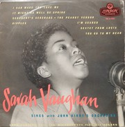 Sarah Vaughan 33t. 25cm ANGLETERRE *It Might As Well Be Spring* - Jazz