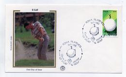 Italia- 1988 -Busta FDC - Lo Sport - Il Golf - (FDC1252)