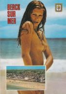 CPM  Représentant Une Femme Nue Aux Seins Apparents De Berck Sur Mer (62)   //  TBE - Berck