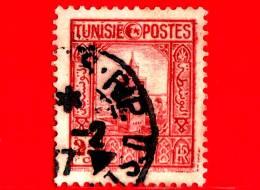 TUNISIA - Usato - 1931 - Persone E Paese - Grande Moschea Di Tunisi - 25 - Oblitérés