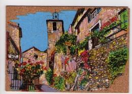 CP 10*15-RES1695-CARTE EN LIEGE RUE DU CLOCHER - Postcards