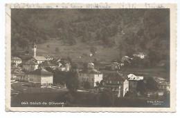 """CARTOLINA """" SALUTI DA OLIVONE """" , CANTON TICINO , 1925 . - TI Ticino"""