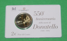 ITALIA 2016 - DONATELLO PEINTER 550 ANNIVERSARY COINCARD - Italia
