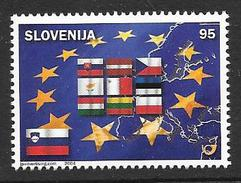 Slovenia: 2004 Slovenia's Accession To The European Union MNH - Slowenien