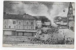 BACCARAT - ASSAUT HEROIQUE DU PONT DE BACCARAT PAR 2 COMPAGNIES D' INFANTERIE EN 1914 - LEGERS PLIS - CPA NON VOYAGEE - Baccarat