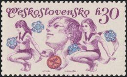 Czechoslovakia / Stamps (1975) 2139: Czechoslovak Spartakiad 1975 (youth Apprentice); Painter: Ivan Strnad