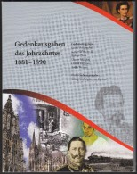 Germany 6 Commemorative Issues 1881-1890 In Blister / Picasso, Orient Express, Koelner Dom, First Car, Wilhelm II - [ 7] 1949-… : FRG - Fed. Rep. Germany