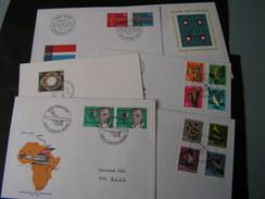 Schweiz   5 Belege Lot - Briefmarken