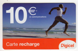 GUYANE RECHARGE DIGICEL 10€ Date 06/2006 - Guyana