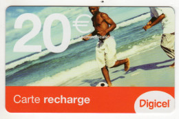 GUYANE RECHARGE DIGICEL 20€ Date 07/2007 - Guyana