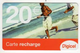 GUYANE RECHARGE DIGICEL 20€ Date 07/2007