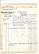MORTIER L HOIR & CIE - SAVON AU BOIS DE PANAMA - MONTROUGE - LETTRE CHAPLAIS PONTCHATEAU - France