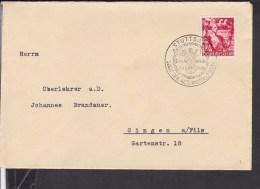 Deutsches Reich Stempel Stuttgart 1938 - Briefe U. Dokumente